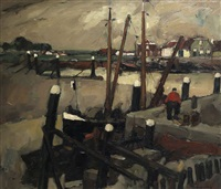 le port by oscar verpoorten