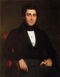portrait of a louisiana gentleman by jacques guillaume lucien amans