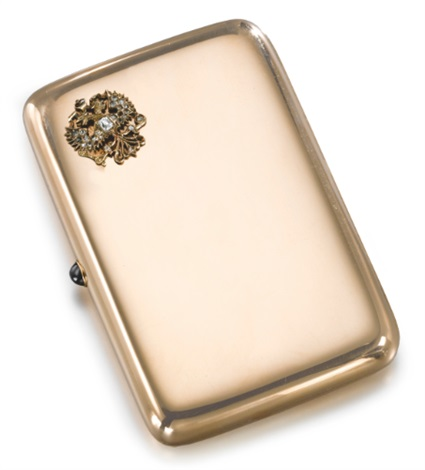 imperial presentation cigarette case by gabriel niukkanen