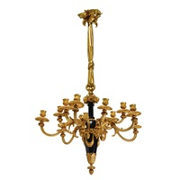 louis xvi style twelve light chandelier by pierre philippe thomire
