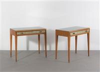 beistelltische (pair) by osvaldo borsani and adriano spilimbergo