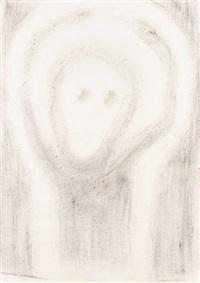 verzweiflung (+ darstellung eines elefanten, verso) by richard haizmann