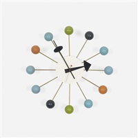 ball clock (model 4755m) by george nelson & associates