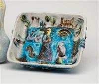 square bowl by fantoni
