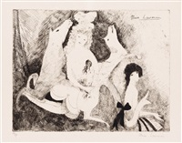 les biches by marie laurencin
