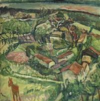 paysage à l'âne by chaïm soutine