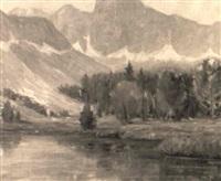 california landscape by j. stephen ward