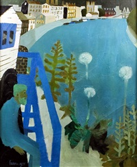 julian on the wharf by mary fedden
