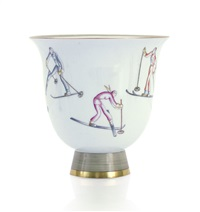 vaso a coppa by richard ginori