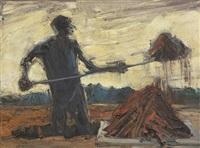 digging/ flinders by euan macleod