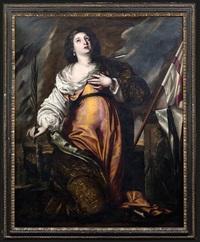 die hl. ursula als märtyrerin by francesco de rosa