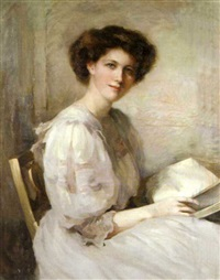 portrait of ellen geiffiths, madame breakwell by marion saumarez
