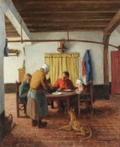 Kempisch interieur by Frans van Giel on artnet