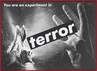 untitled (you are an experiment in terror) by barbara kruger