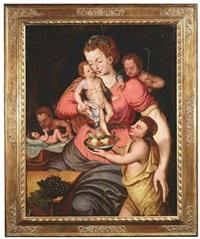 allegorie der fruchtbarkeit by vincent sellaer