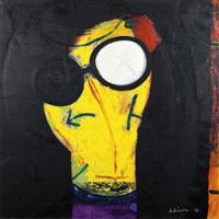 occhiali sul giallo by nino aimone
