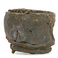 tea bowl by peter voulkos