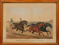 dexter, ethan allen and mate by (lithographers) haskell & allen