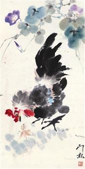 对视 镜心 设色纸本 by xiao lang