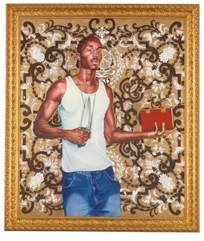 passingpossing 3 by kehinde wiley