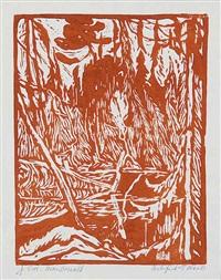 beaver pond, algoma by james edward hervey macdonald