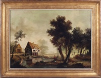 dutch landscape by ira monte