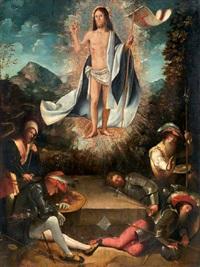 resurrezione di cristo by altobello melone