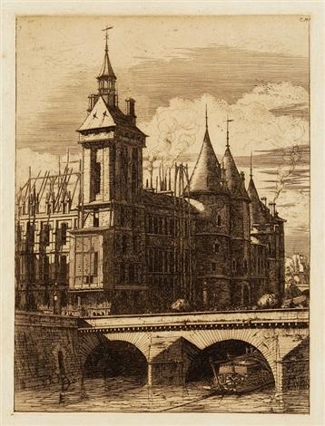 la tour de lhorloge by charles meryon