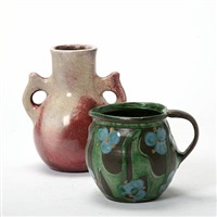 vase and jug by kähler pottery (co.)