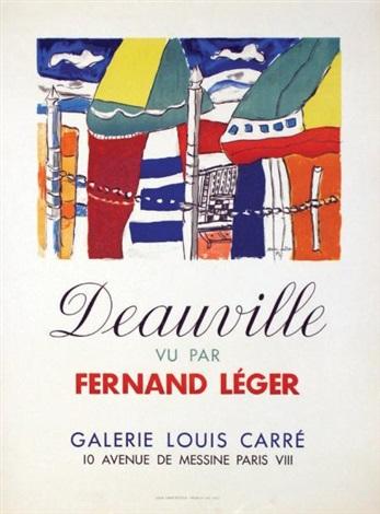 deauville vu par fernand léger galerie louis carré by fernand léger
