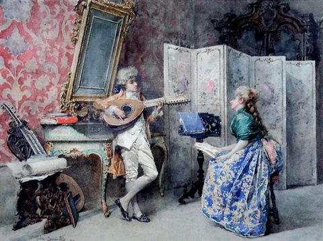 the duet by attilio simonetti