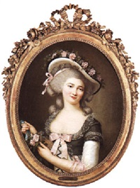 portrait of a lady by elisabeth bocquet le moine