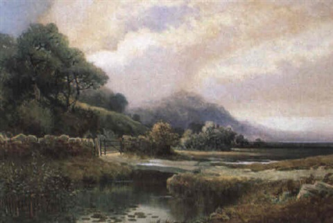 coastal landscape by william joseph wadham
