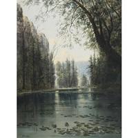 lily pond by henry nesbitt mcevoy