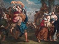 ratto delle sabine by theodor van thulden