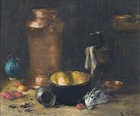 küchenstillleben by alexis vollon