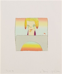 ohne titel (from over the rainbow. 2004) by hiroshi sugito and yoshitomo nara
