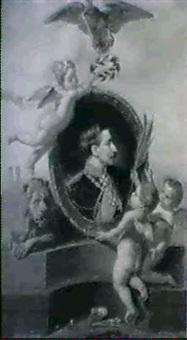 bayern huldigt kaiser wilhelm ii by lucia mathilde von gelder