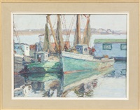 fishing boats by george a. renouard