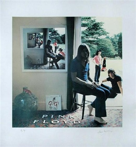 Ummagumma, a Pink Floyd album cover by Storm Thorgerson on