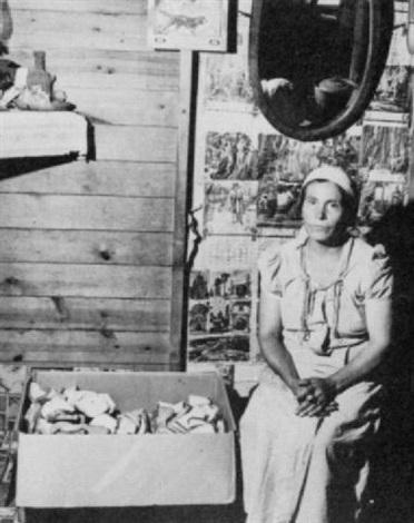 mexican woman saginaw county michigan by john vachon