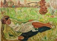 la sieste by edmond bille