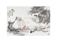 figure of the drunken by deng kaiyi
