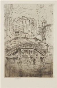 ponte del piovan by james abbott mcneill whistler