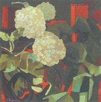 hortensien vor burgkulisse by primo pegoraro