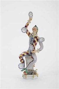 jongleur mit teller by peter strang