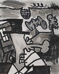 the search for orgone, a by carroll dunham