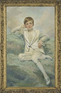 portrait of benjamin robert chetyn talbot by emile antoine verpilleux
