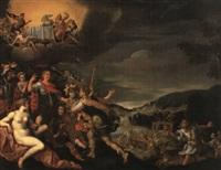 allegorie des friedens by lucas de heere