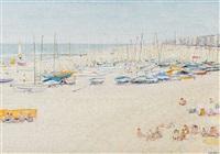 la plage à duinbergen by paul smolders